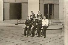 WWII Ger Navy RP- Kriegsmarine- Sailor- Blue Uniform- Hat- Senior Officer & NCOs