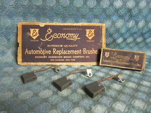 1929-35 Auburn Cadillac Franklin Pierce-Arrow Generator Brush Set 30 31 32 33 34