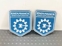 2- Endurance Space Exploration Embroidered Sewn/Iron On Patch NEW
