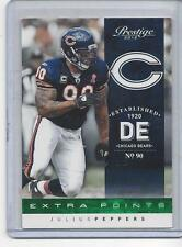 JULIUS PEPPERS 2012 PRESTIGE EXTRA POINTS GREEN #D 2/25
