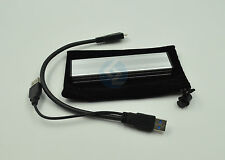 Silver SSD to USB3.0 Hard disk Enclosure Adapter for MacBook Air A1370 2010 2011