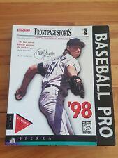 baseball pro 98 pc game