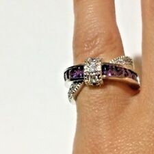 925 Sterling Silver Tanzanite Gemstone Ring, US 5, EU 49