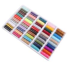 Sewing Thread Set Spools Assorted Colors Sewing Threads Needles Kit Tools