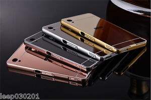 For Sony Xperia Luxury Aluminium Mirror Case Phone Cover  Z2, Z3, Z4, Z5