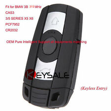 With Keyless Go Function Remote Key 315MHz for BMW CAS3 3/5 Series X5 PCF7952
