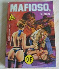 BD ADULTE PETIT FORMAT ELVIFRANCE MAFIOSO LE BRONX N° 22