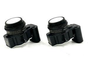 2x OEM BMW F32 F33 F82 F83 F36 M4 Parking Sensor PMA 66209261625 Alpine White