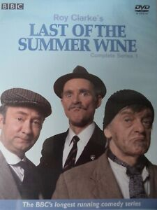 LAST OF THE SUMMER WINE - Series 1 2 x DVD Set AS NEW! Complete First Season One