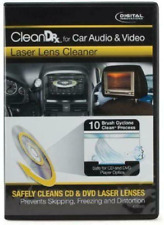 Car Audio & Video Laser Lens Cd and Dvd Player Dust Dirt Debris Portable Cleaner