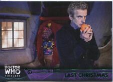 Doctor Who Timeless Green Parallel Base Card #98 Last Christmas