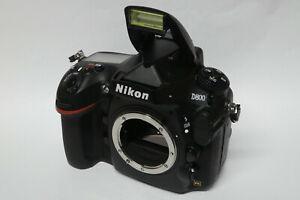 Nikon D800 Gehäuse gebraucht nur 27335 Auslösungen D 800 in ovp