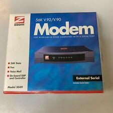 NEW Zoom 3049 Data/Fax Modem in box