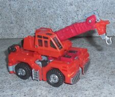 Transformers Robots in Disguise HIGHTOWER Rid 2001 Red Crane landfill