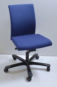 Drehstuhl - blau - HAG H04 Credo - ohne Armlehnen