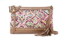 Sakroots Cross Body Shoulder Bag Seni Collection Leather Berry Brave Beauti
