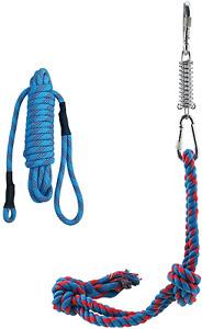 Dog Tug Toy Interactive Dog Tree Toy Spring Pole Dog Rope Toy Kit for Tug of War