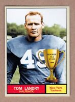 Tom Landry '49 New York Yankees Monarch Corona Rookie All Star #2