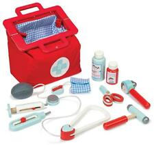 NEW Le Toy Van Portable Childrens Wooden Medical Doctors Kit in Carry Case