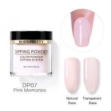 BORN PRETTY Dip Dipping Powder Liquid Glitter Acrylic Tips Nail Art Starter Kits