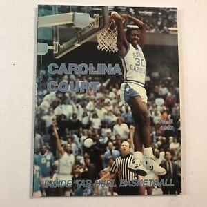 Carolina Court 1986-87 Volume II, Kenny Smith on Cover