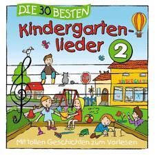 Die 30 besten Kindergartenlieder 2   CD   NEU