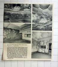 1952 The Centre Pierre Bourdan , Modern Radio Studio L Conturie