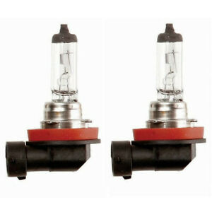 h11 halogen bulb Standard H11 Headlight Bulbs X4. 2X used 2X NEW. FOG + low Beam