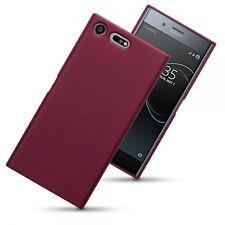 Sony Xperia XZ Premium..  Ballistic Impact Resistant Gel Bespoke Case Red