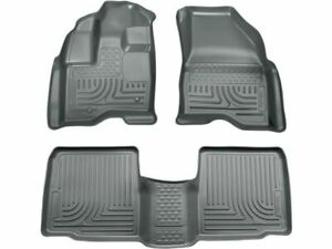 For 2009-2016 Lincoln MKS Floor Mat Set Front and Rear Husky 49295ND 2014 2013