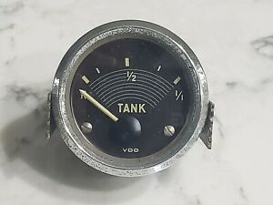 Vintage Original VW Bus VDO Fuel Gas Gauge Volkswagen