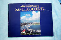 A Community Guide to San Diego County - Security Pacific Bank - 6/78