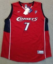 TINA THOMPSON WNBA OFFICIAL LICENSED HOUSTON COMETS REPLICA JERSEY SIZE L