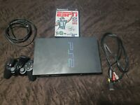 Sony PlayStation 2 PS2 Fat Console System SCPH-39001 w/ Controller and NFL 2K5