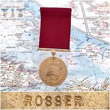 NAMED 1947 NAVY GOOD CONDUCT MEDAL JOHN M. ROSSER WORLD WAR II VETERAN