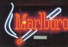POSTCARD / CARTE POSTALE / MICHELE CUREL SERIE NEON / PUBLICITAIRE SMOKE MALBORO