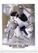 Ryan Miller 2011-12 Panini Titanium Spectrum Card #15 /10