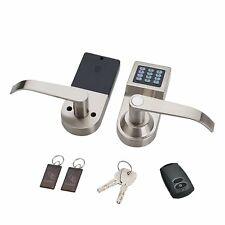 Cerradura Digital para Puerta, con Control Remoto, Tarjeta M1, Código y Llave!