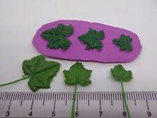 SCALA 1:12 Stampo foglia, uva Foglie Casa delle Bambole Accessorio da giardino in miniatura