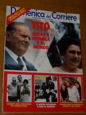 DDC 1980/9=TITO JOVANKA=BARBARA BACH=WALTER ROHRL=DAPPORTO=GIUSEPPE PREZZOLINI=