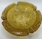 VINTAGE MID CENTURY LIDO SORENO GOLD GLASS ASHTRAY