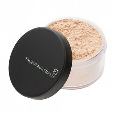 FACE OF AUSTRALIA TRANSLUCENT Loose-Finishing-Setting Powder, Mattifying, Carded