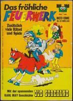 Das fröhliche Feuerwerk Comic-Band 12 Karl May: Old Shurehand I (1973) Z 2-3