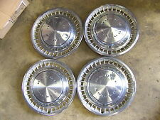 """1972 73 74 DODGE CHARGER HUBCAPS WHEEL COVERS 14"""" (4) CHALLENGER 75 76 DART"""