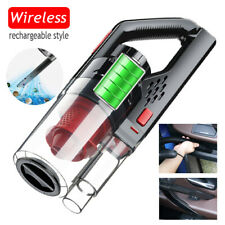 Wireless Handheld Vacum Cleaner Hoover Bagless Car Home Carpet Cleaner Wet/Dry