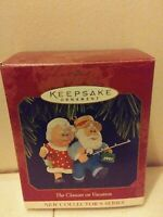 Hallmark Keepsake Ornament The Clauses on Vacation - 1997 1st in Series