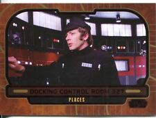 Star Wars Galactic Files 2 Red Parallel Base Card #657 Docking Control Room 327
