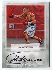 Tomasz Adamek 2011 Ringside Boxing 2 Autograph Auto Card #A-TA2 *AA124