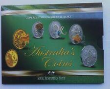 2004 AUST UNC 6  COIN SET THEME:  COME ALIVE