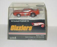 Hot Wheels Sizzlers '69 FIREBIRD T/A Orange #5 ~ Redlines With Case ~ 2006